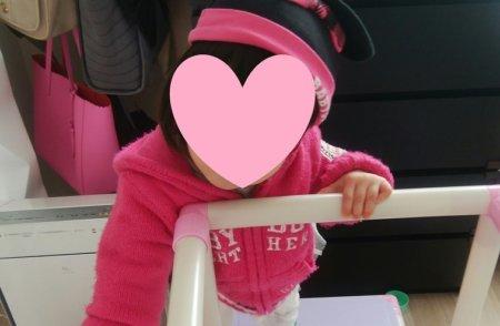 1歳1ヶ月の女の子