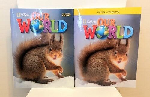 our world テキスト