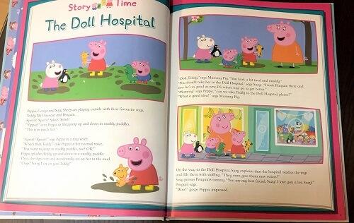 Peppa pig絵本The Doll Hospital