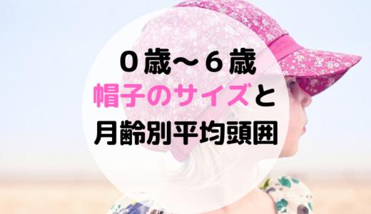 0歳~6歳の帽子のサイズと頭囲平均!赤ちゃんが帽子を嫌がる時の対処法も