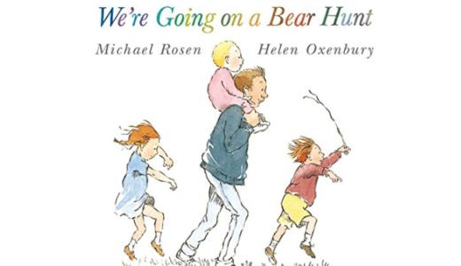 We're going on a bear huntはイギリス名作絵本!作者渾身のわらべうたYouTubeも必見
